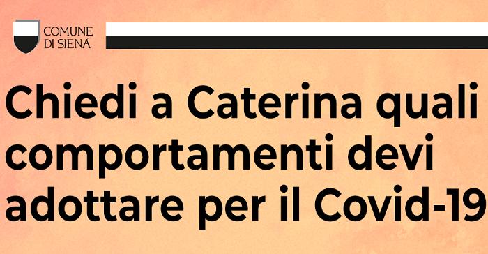 Caterina ai tempi del coronavirus